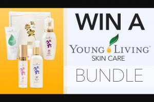 Channel 7 – Sunrise – Win a Young Living Skincare Pack (prize valued at $397)