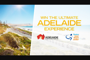 Channel 7 – Sunrise – Win The Ultimate Adelaide Experience (prize valued at $7,700)