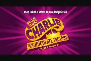 Charlie and the chocolate factory – Win 1/4 Weekly Darrell Lea Prizes and 1 Major Prize (prize valued at $12,325)