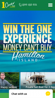 1 Cover – Win The One Experience Money Can't Buy