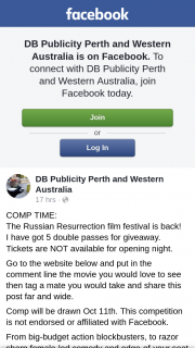 DB Publicity Perth and Western Australia – Win Thepromotionthey Will Makethemselves