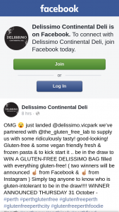 Delissimo Continental Deli – Win a Gluten-Free Delissimo Bag Filled With Everything Gluten-Free