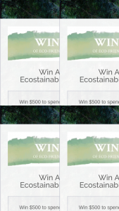 Ecostainable Australia – Win $500 to Spend at Ecostainable and Live Out Your Eco-Friendly Dreams (prize valued at $500)