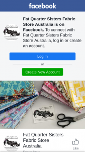 Fat Quarter Sisters – Standard Postage In Australia (prize valued at $1)
