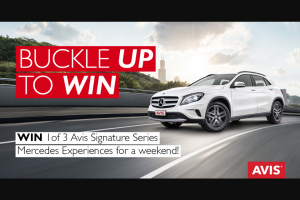 Flight Centre Business Travel – Win 1 of 3 Avis Signature Series Mercedes Experiences for a Weekend