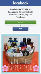 Foodworks EJ's Rockhampton – Win a Hamper Must Collect