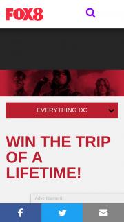 Fox8 – Win – Win a Trip to La (prize valued at $9,550)