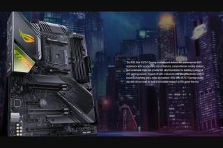 Hoshi – a Rog Strix X570-f Motherboard Which Has Support for 2nd and 3rd Gen Amd Ryzen Processors (prize valued at $419)