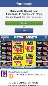 Mega Meats Booval – Win a $100 Meat Voucher