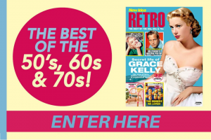 New Idea Retro Grace Kelly Puzzle – Win One (1) (prize valued at $200)
