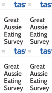 News Corp-Taste – Win $5000 Great Aussie Eating Survey (prize valued at $5,000)