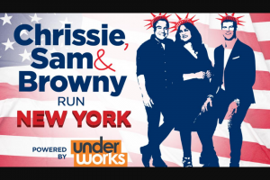 Nova 100 Chrissie – Win a Holiday to New York City Thanks to Underworks (prize valued at $9,000)