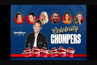 Nova FM Smallzy's Celebrity Chompers closes 10am AEST – Competition