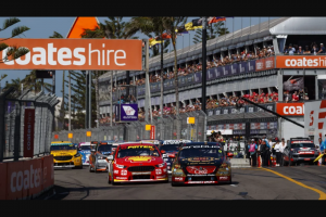 Plusrewards – Win a Double Pass to The Coates Hire Newcastle 500 Plus a Pit Lane Walk