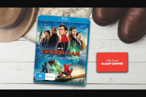 Plusrewards – Win a Spider-Man