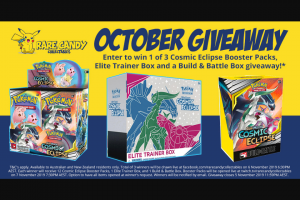 Rare Candy Collectables – for Australian and New Zealand Residents Only (prize valued at $410)