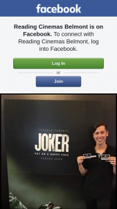 Reading Cinemas Belmont – a Double Pass to See Joker