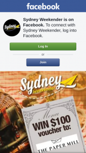 Sydney Weekender – 4 X $100 Vouchers to The Paper Mill Food