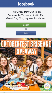 The Great Day Out – Win One of 25 Double Passes to Oktoberfest Brisbane 2019