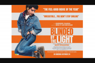 The West Australian – Win 1 of 50 Double Passes to Preview Blinded By The Light