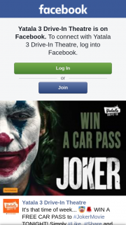 Yatala drive-in theatre – Win a Free Car Pass to #jokermovie Tonight
