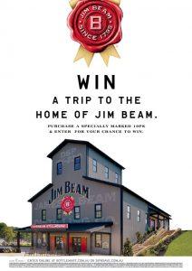 Bottlemart – Jim Beam – Win a trip for 4 to Louisville, Kentucky USA