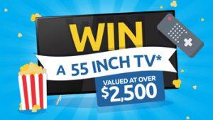 Click Energy – Win a Samsung Series 7 55″ 4K UHD QLED TV