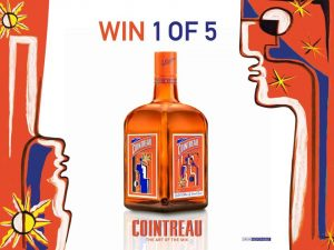 Cointreau – Win 1 of 5 bottles of Cointreau Vincent Darre Limited Edition Liqueur