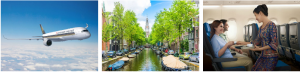 Cruise Passenger – Win 2 return airfares to Amsterdam via Singapore