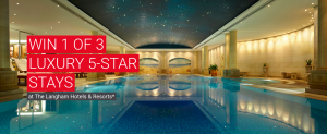 Flight Centre Travel – Win 1 of 3 prizes of a luxury 5-star stay at The Langham Hotel each