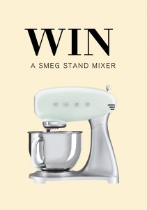 Healthy Chef – Win a Smeg Stand Mixer