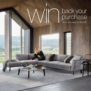 King Living – Win back your purchase up to the valued of $5,000