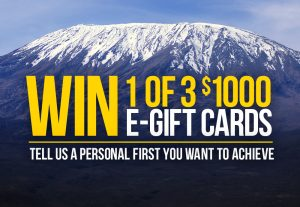 Mountain Designs – Win 1 of 3 e-gift cards valued at $1,000 each