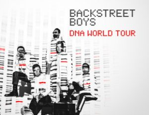 Optus Perks – Win a trip for 2 to the Backstreet Boys concert in Sydney PLUS 2 Premium Reserved Seating tickets and 2-night accommodation
