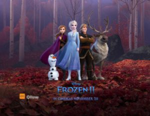 Optus – Win 1 of 334 Family tickets to 'Frozen 2' screening with Optus Perks