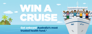 TUH Health Fund – Win a cruise to the South Pacific for 4 people with P&O Cruises