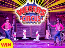 Think Local – Win 1 of 5 family tickets to Webers Circus