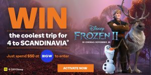Woolworths Rewards – Win a family trip for 4 to Scandinavia