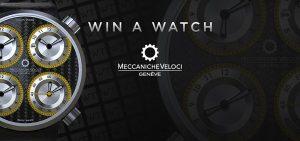 WorldTempus – Win a Meccaniche Veloci QuattroVavole CarboGiallo watch valued at CHF8,200
