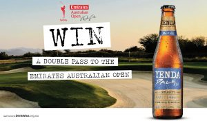 Yenda – Win 1 of 5 double tickets to the Emirates Australian Open