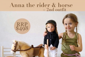 Axis Toys – Win this $498 Prize of a Gotz Anna Doll and Her Horse and The Fabulous Pineapple Punch Outfit (prize valued at $498)