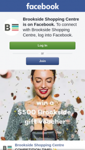 Brookside Shopping Centre – Win a $500 Brookside Gift Card to Kickstart Your Christmas Shopping