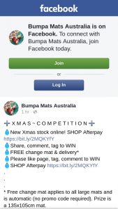 Bumpa Mats Australia Christmas competition – Competition