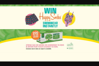 BWS-Somersby – Win Happy Socks Swimwear