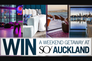 Channel 7 – Sunrise Family – Win a Weekend Getaway to So/ Auckland