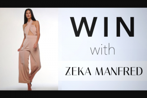Channel 7 – Sunrise – Win an Outfit From Zeka Manfred In this Week's Sunrise Family Newsletter