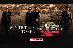 Channel 7 – Sunrise – Win One of Fifty Double Passes to See U2 The Joshua Tree In Concert