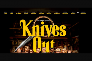 Community News – Win 1 of 20 Double Passes to See Knives Out