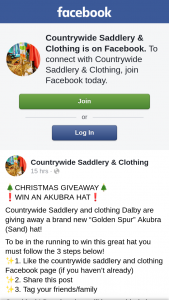 Countrywide Saddlery & Clothing – Win Electrolux Black Appliances this Black Friday (prize valued at $1)