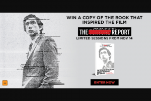 Dendy Cinemas – Win a Copy of The Movie Tie-In Edition of The Senate Intelligence Committee Report on Torture